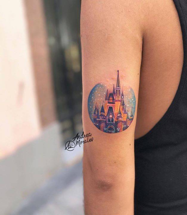 cuáles son los más bonitos tatuajes inspirados en el mundo de Walt Disney, bonitos diseños de tatuajes para inspirarte