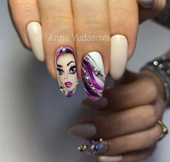 dibujos y diseños de uñas que simplemente enamoran, 95 ejemplos de los mejores modelos de uñas con decorados
