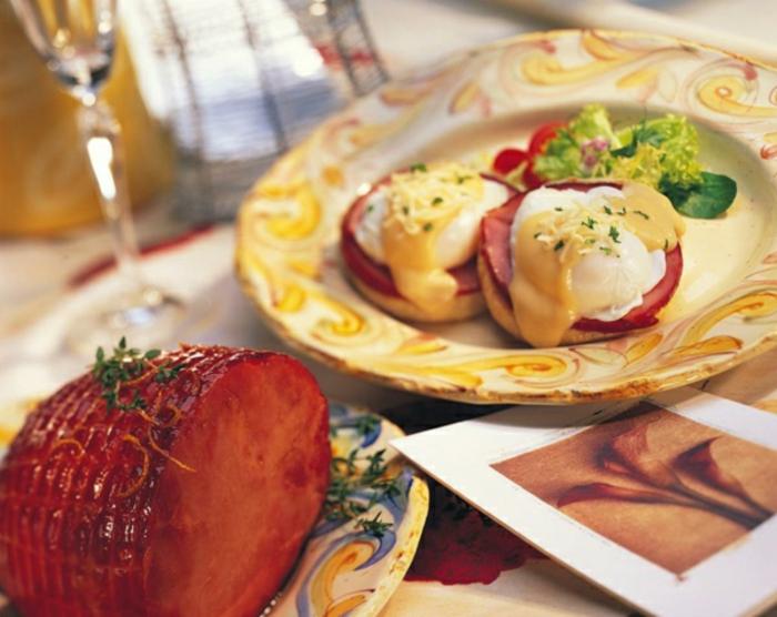 bocados ricos con embutidos huevos y quesos, desayunos faciles para un bruch, ideas sobre desayunos tardíos