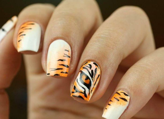diseños de uñas bonitos y originales, colores y decoraciones para uñas, los mejores dibujos de uñas de gel en fotos