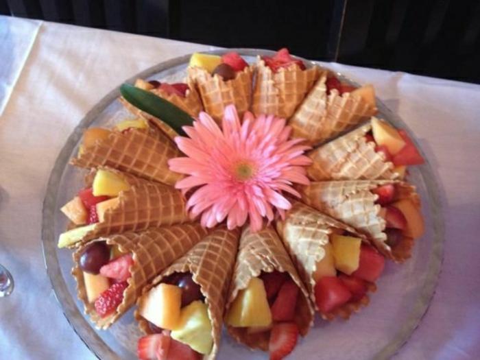hermosas propuestas de desayunos con frutas para toda la familia, más de 173 ideas de brunch casero en fotos