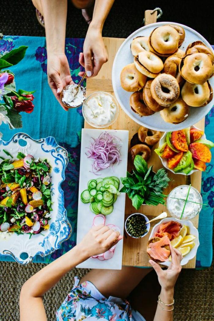 excelentes propuestas para un brunch casero, comer vegetales es saludable, recetas de comidas sanas y nutritivas