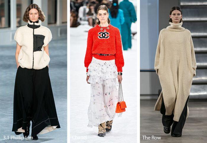 cuáles serán las top tendencias en prendas para la próxima temporada, ideas de tendencias otoño invierno 2019 mujer