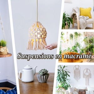 127 técnicas e ideas para hacer una decoración con macramé
