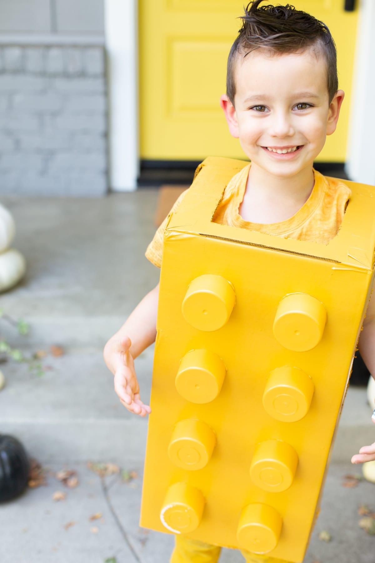disfrace niño super original, ideas creativas de disfraces halloween niño, fotos de niños disfrazados