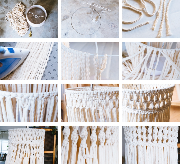 super originales ideas sobre como hacer macramé paso a paso, 127 magníficas ideas sobre detalles decorativos con esta técnica