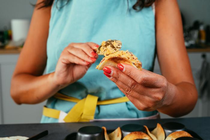 relleno de tacos con pollo, recetas sencillas y originales de tacos caseros paso a paso, rellenos para tacos deliciosos