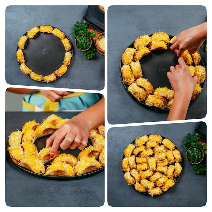 ideas para preparar tacos caseros deliciosos, rellenos para tacos con quesos y pollo, recetas de tacos para hacer en casa en media hora