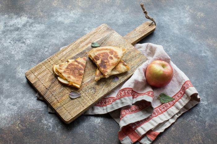 cuáles son las mejores recetas con calabaza, quesadillas calabaza originales, ideas de recetas halloween en fotos