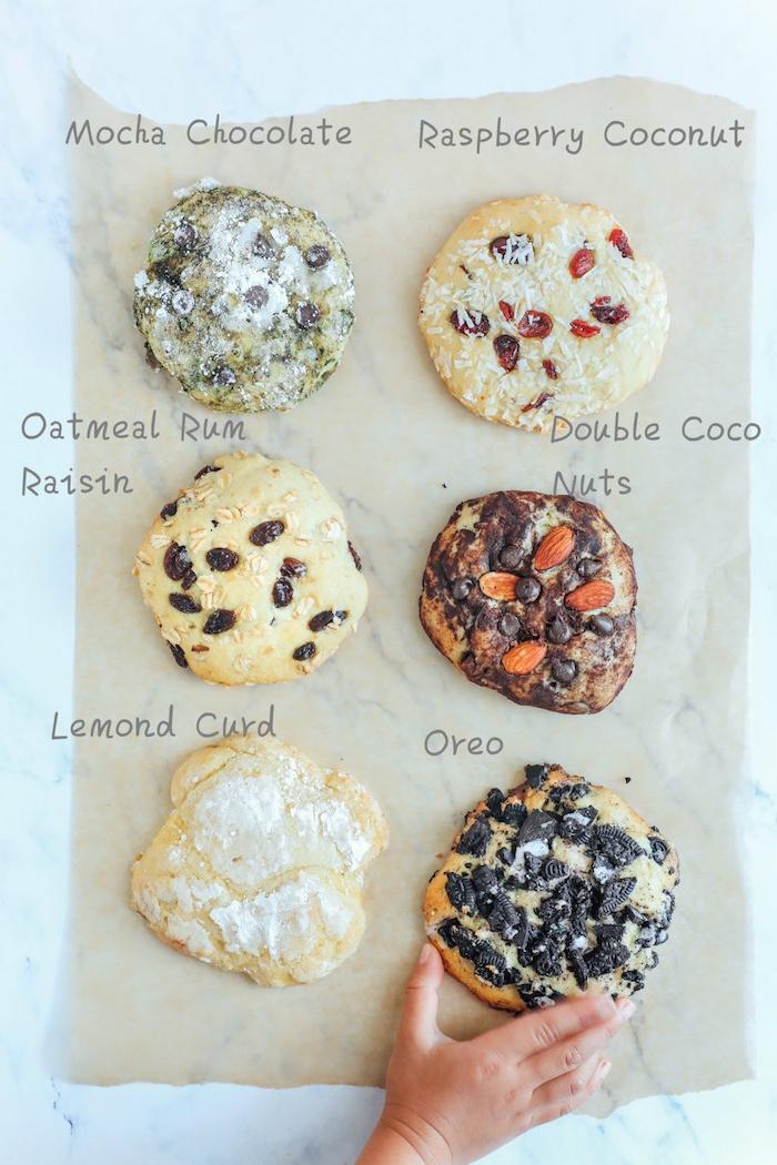 seis tipos de galletas blandas super ricas y fáciles de hacer en casa, recetas de galletas faciles, fotos de galletas americanas