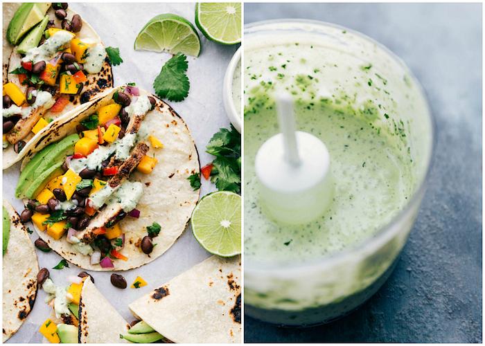 salsa de tacos casera con verduras, ideas sobre rellenos para tacos hechos en casa, las mejores ideas de tacos en fotos