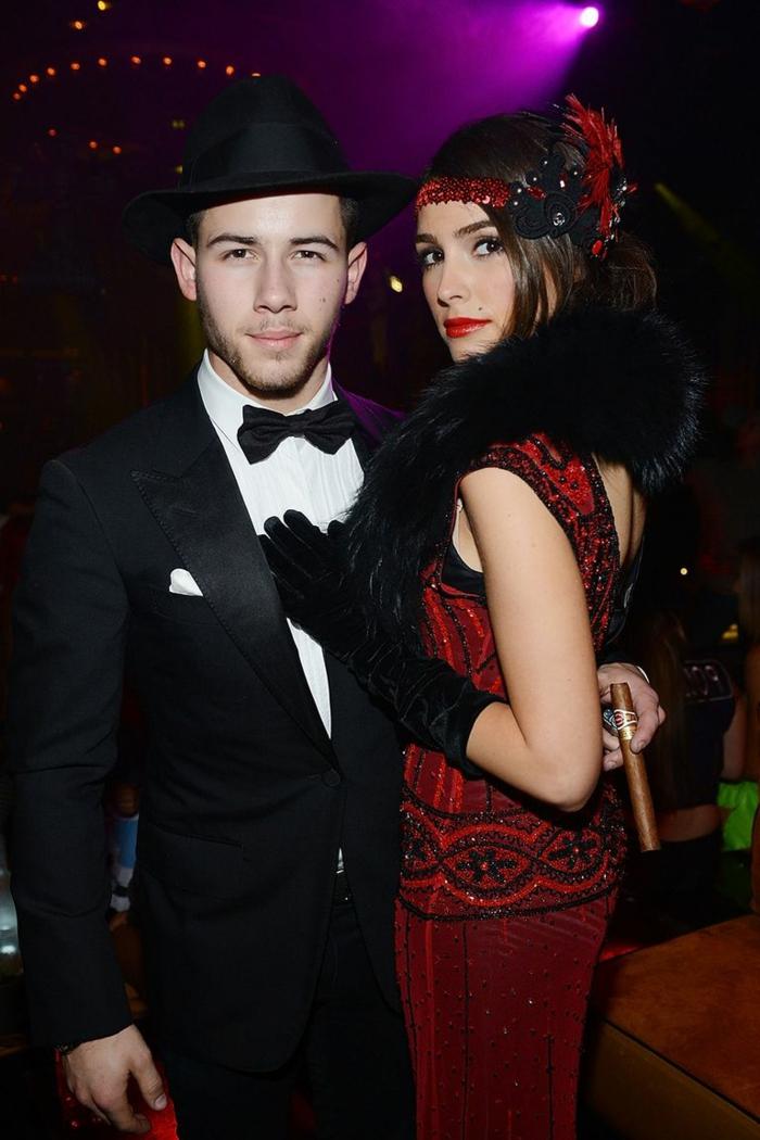 famosas parejas disfrazadas, fotos inspiradoras para Halloween, disfraces en pareja originales en más de 80 imágenes