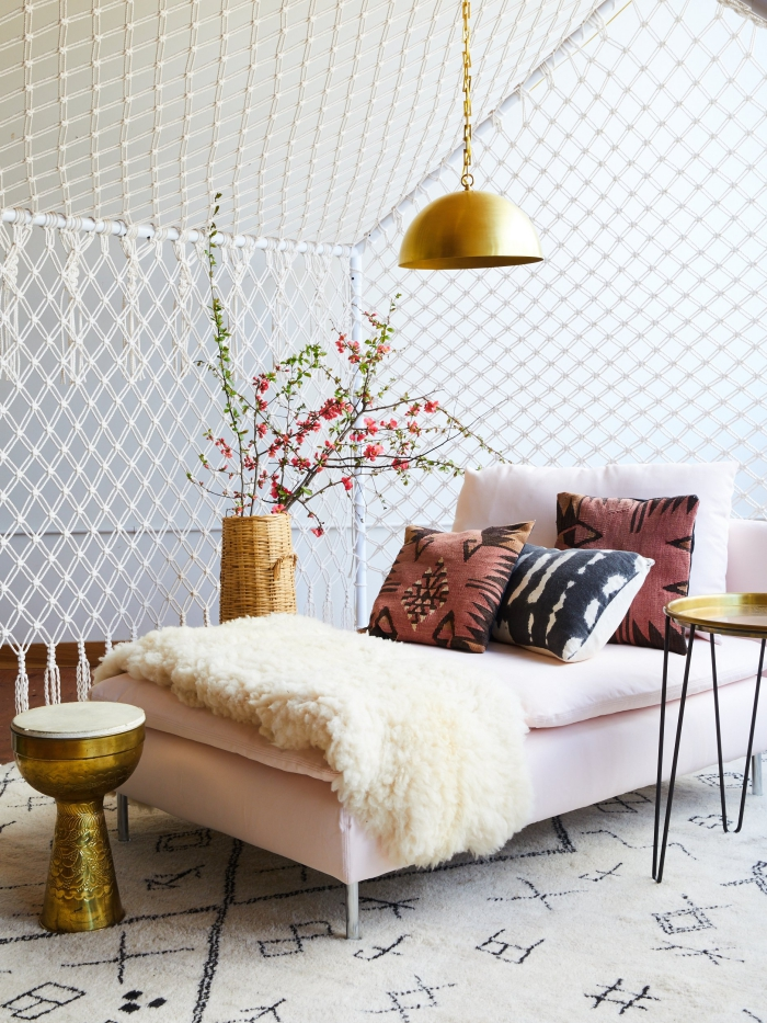 super originales ideas de decoracion con macrame, macrame paso a paso, fotos y video tutoriales en imagenes bonitas