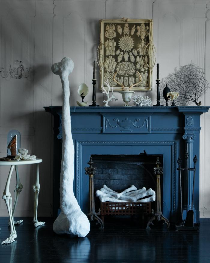 alucinantes ideas de decoración salón en estilo rústico, manualidades halloween originales para decorar la casa