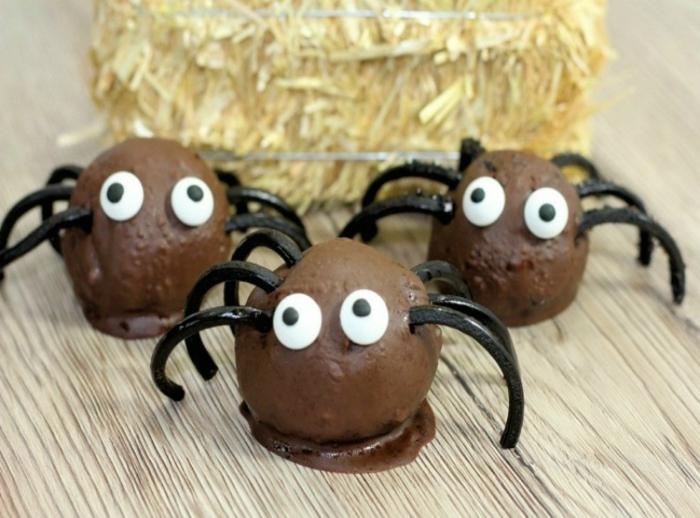 dulces de Halloween y otras excelentes propuestas para organizar una cena de Halloween, recetas terrorificas para halloween