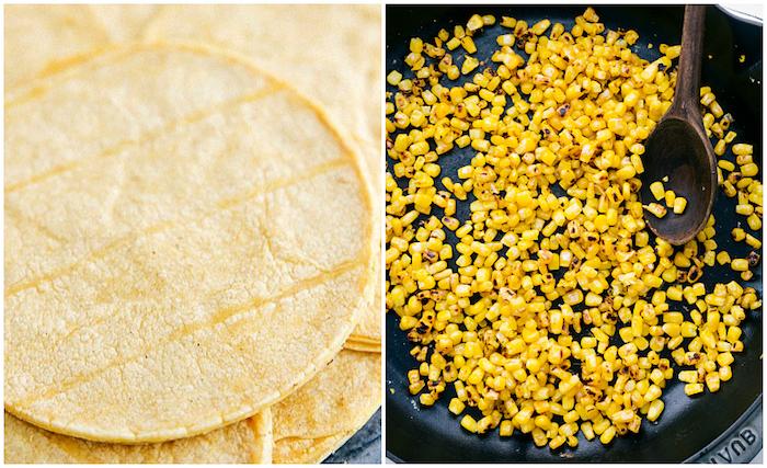 tacos receta con maiz, tacos mexicanos ricos y fáciles de hacer, recetas paso a paso, fotos de entrantes y tapas originales