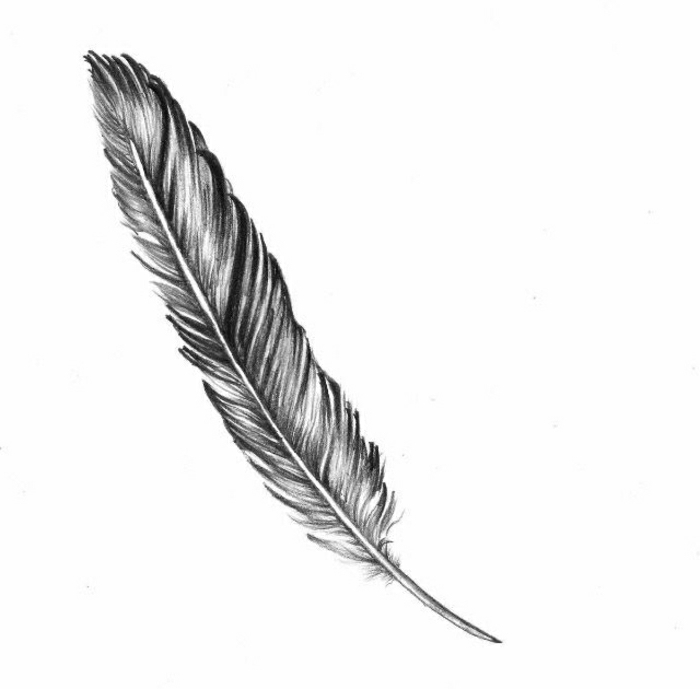 hermosos diseños de tatuajes de plumas, qué significan los tatuajes pluma, tatuajes originales y bonitos para hombres y mujeres