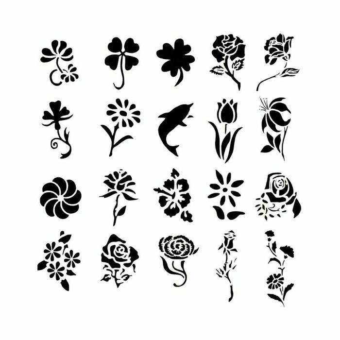 pequeños detalles tinta negra, tatuajes para mujeres, ideas de tatuajes minimalistas, motivos de tattoos pequeños