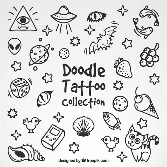 pequeños motivos old school para un tatuaje, diseños de tatuajes simbólicos y bonitos, fotos de tatuajes pequeños