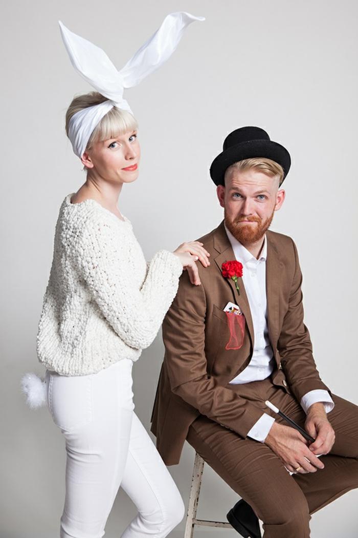 originales ideas de trajes de carnaval para novios y maridos, más de 90 sugerencias de disfraces de Halloween sencillos