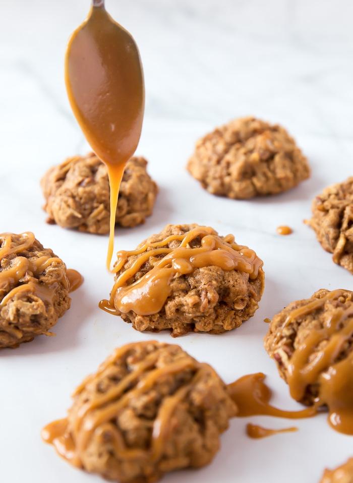 galletas saludables con caramelo, como hacer galletas caseras con avena, más de 90 fotos con recetas