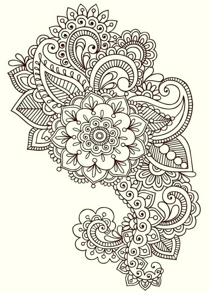 tatuajes originales, diseños de tatuajes con motivos florales, bonitas ideas de tattoos para descargar e imprimir, originales diseños de tattoos