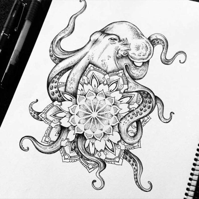 los mejores diseños de tatuajes con un significado simbólico, originales ideas de tatuajes para imprimir, tatuaje mandala