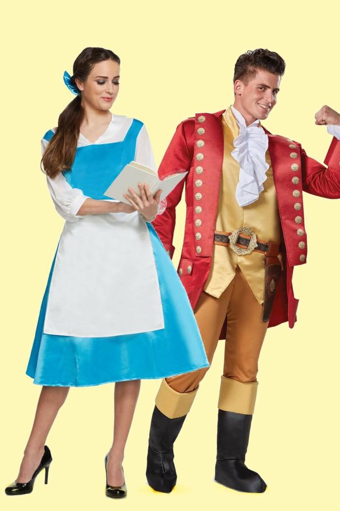 disfraces de carnaval en grupo y en pareja, originales propuestas de disfraces de halloween, propuestas de disfraces de novios y maridos