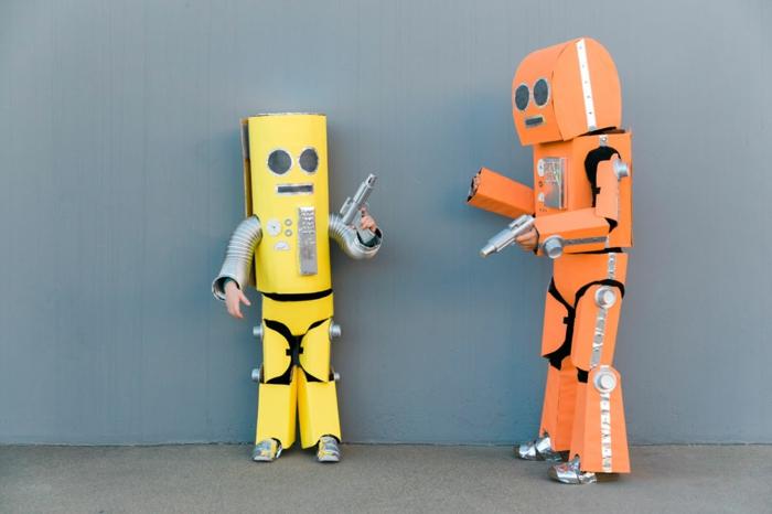 ideas originales de disfraces de pareja, disfraces originales para una fiesta, disfraces originales para halloween para hacer en casa