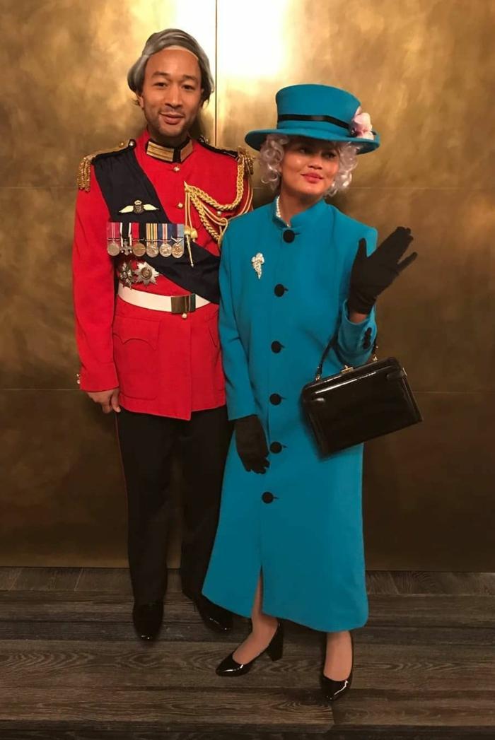 cómo disfrazarse este Halloween para captar todas las miradas, disfraz de Reina Isabel y su marido, disfraces super originales