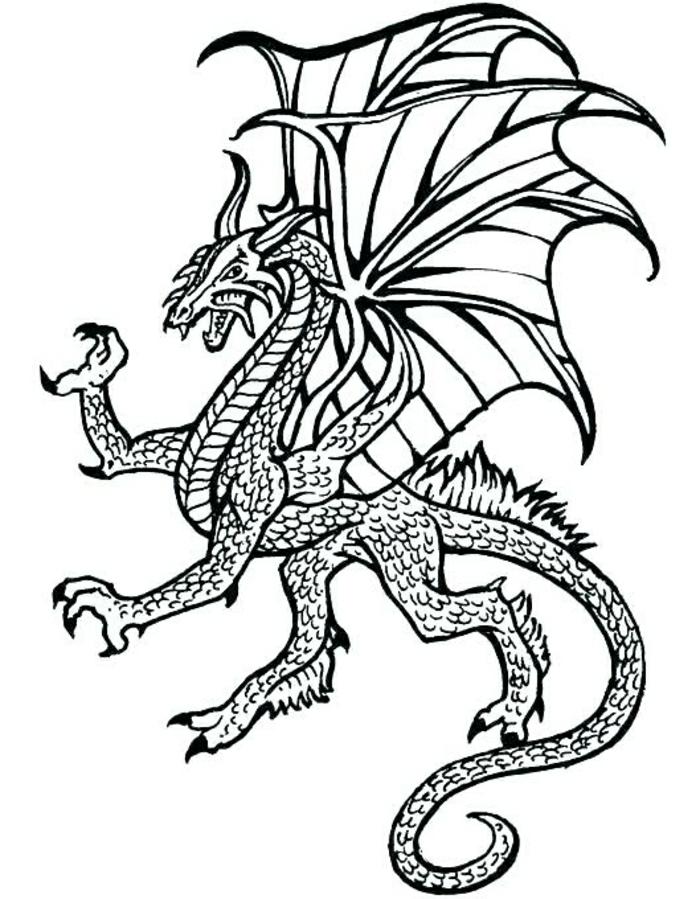 tatuaje dragón bonito, ideas de tatuajes temporales para pequeños y adultos, diseños de tatuajes bonitos y fáciles de hacer