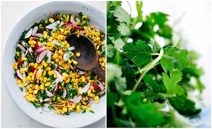 mezcla para tacos con verduras y maiz, tacos receta original, propuestas de rellenos de tacos saludables y fáciles de hacer