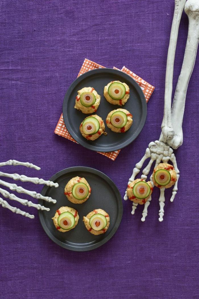 aperitivos faciles y rapidos para impresionar a tus pequeños en halloween, decoración casera para Halloween y recetas fáciles
