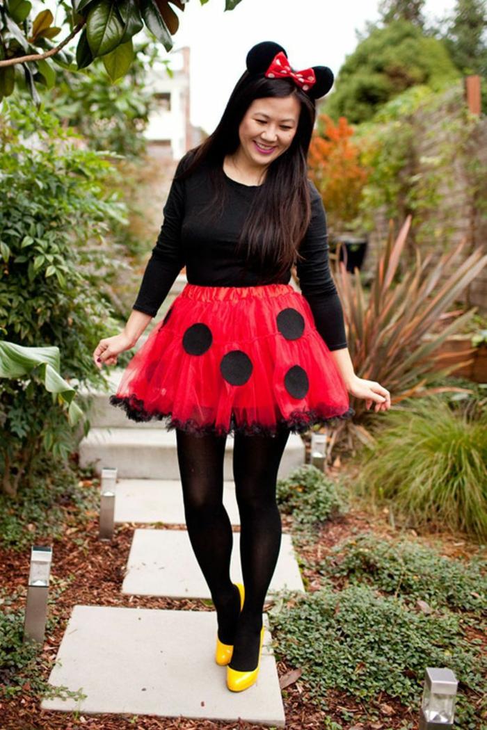 disfraz Mickey Mousse original, disfraces originales para halloween, las mejores ideas sobre cómo disfrazarse este halloween