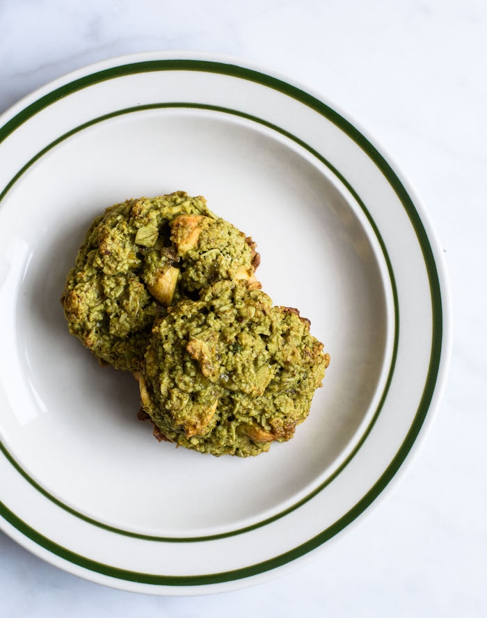 galletas saludables con matcha, ricas ideas de postres fáciles y rápidos para preparar en casa