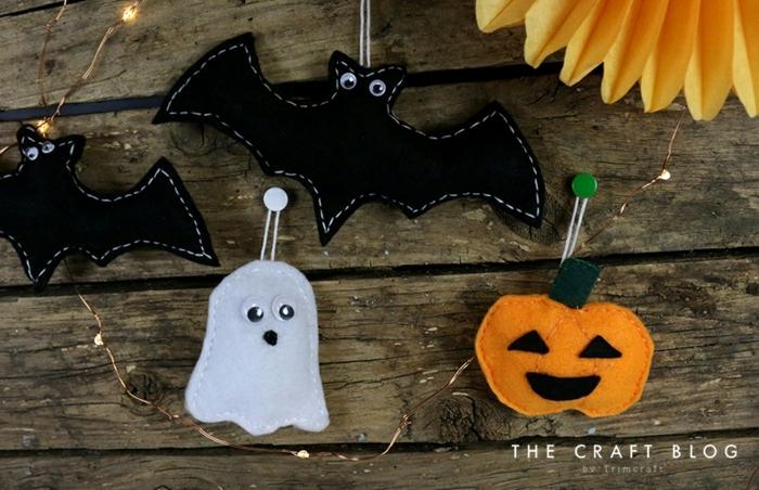 ideas adornos halloween caseros originales para pequeños y adultos, adornos fáciles y rápidos para hacer en casa