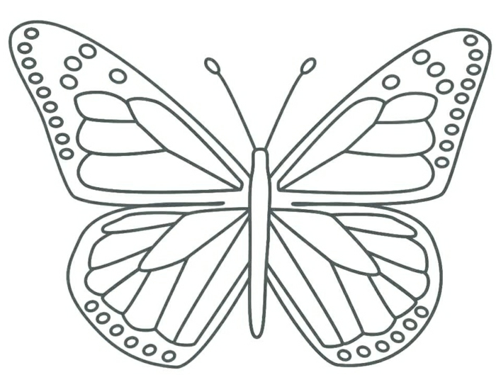 tatuajes mariposa originales, diseños de tatuajes con mariposa, tatuajes sencillos en plantillas que puedes descargar gratis