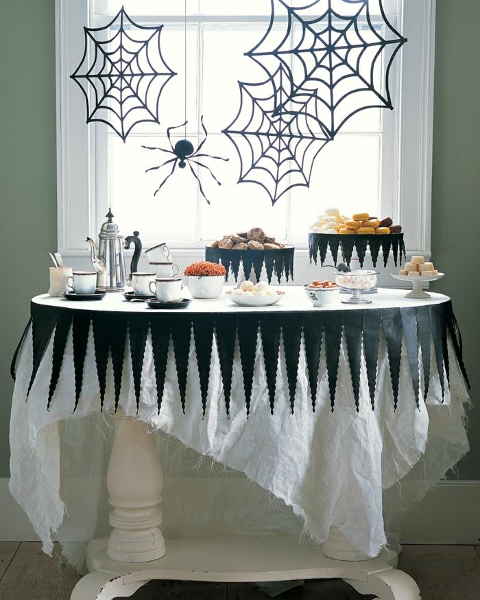 como montar una fiesta de Halloween, más de 90 ideas inspiradoras para Halloween, adornos halloween caseros