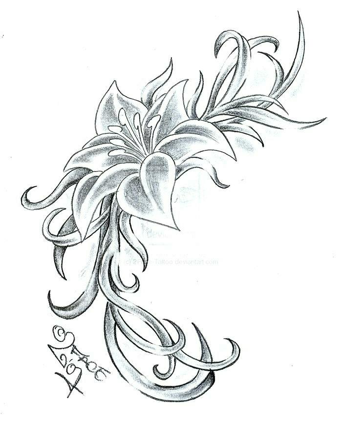 preciosos diseños de tatuajes con flores, tattoo flor de loto, significados de tatuajes con flores y fotos de tatuajes