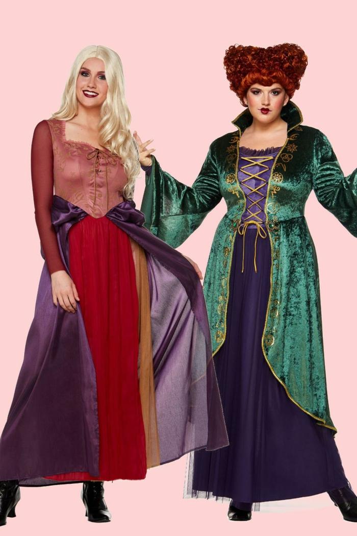 ideas originales de disfraces inspirados en cuentos de hadas, disfraces de carnaval para grupos y parejas, disfraces mejores amigos