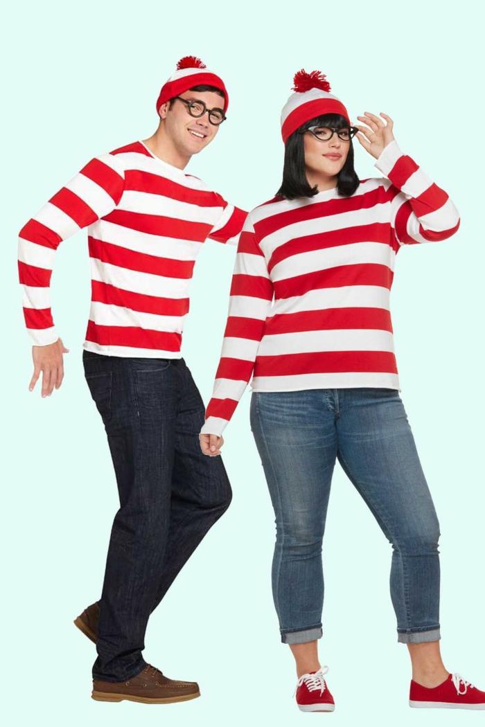 ideas de trajes de carnaval para halloween para novios y maridos, excelentes ideas para una fiesta de halloween en fotos
