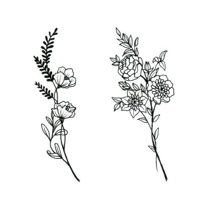 originales ideas de tatuajes familia, tatuajes de flores, significado de los tatuajes, plantillas tatuajes bonitos y originales