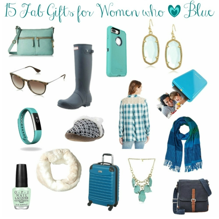 detalles para regalar en color azul, regalos personalizados en los colores favoritos de tu suegra, fotos de regalos bonitos
