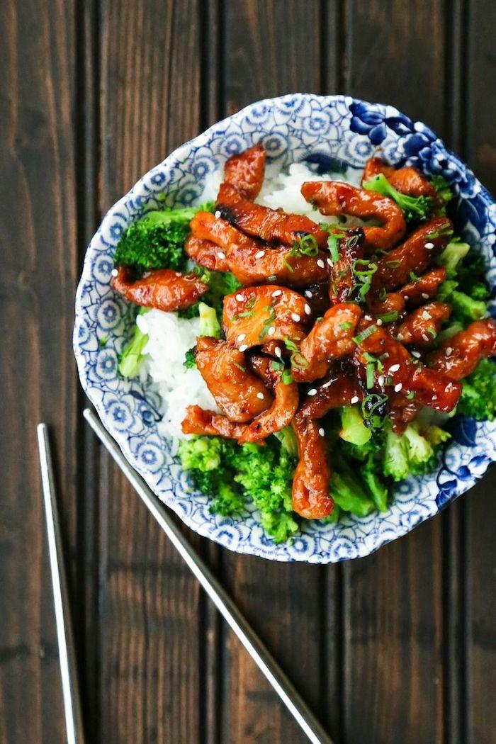 fantásticas ideas de comida asiática, recetas sencillas para principiantes, ideas sobre qué preparar hoy