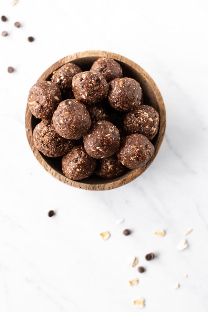 fantásticas propuestas sobre como hacer trufas de chocolate paso a paso, más de 90 fotos con ideas de bocados energéticos