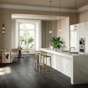 Cocinas con barra modernas en 100 imágenes