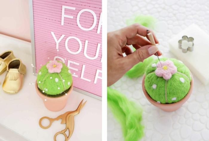 preciosas ideas de regalos para abuelas hechos a mano, cosas para regalar a tu abuela, alfiletero paso a paso en colores