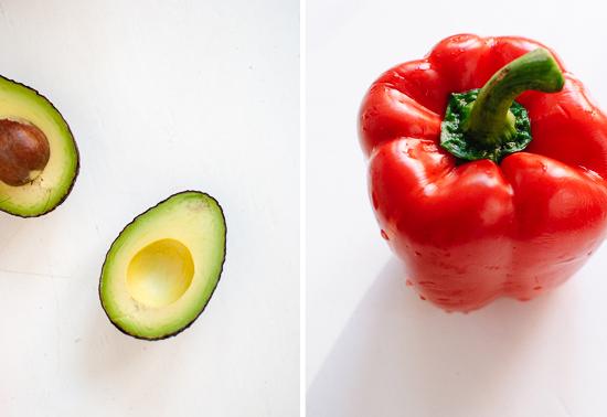 ingredientes para cenas saludables con vegetales, ensaladas verdes ricas y fáciles de hacer, como preparar una ensalada
