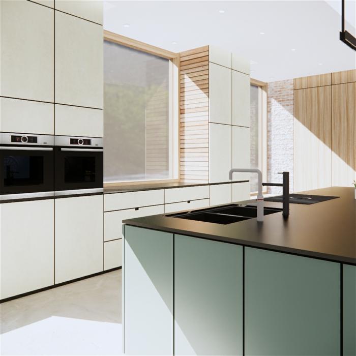 cocina funcional y moderna con barra americana cocina en estilo minimalista, las mejores ideas para renovar una cocina