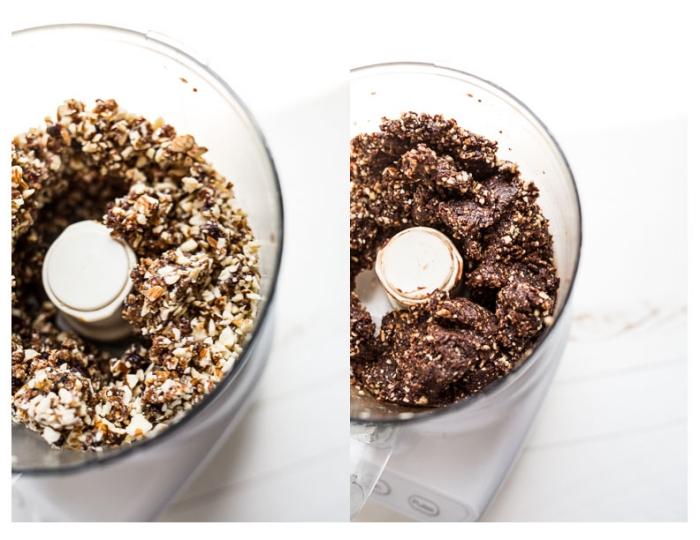 como hacer bolas energéticas saludables con copos de avena, recetas fáciles y rápidas de bocados energéticos paso a paso